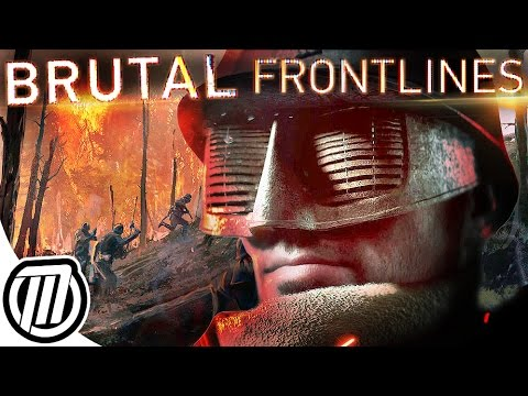 Battlefield 1: BRUTAL Frontlines War | French VS Germans | They Shall Not Pass DLC