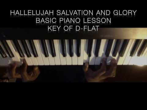 How To Play Hallelujah Salvation And Glory Youtube