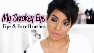 My Smokey Eye + Tips & My Favorite Brushes | BeautyByLee