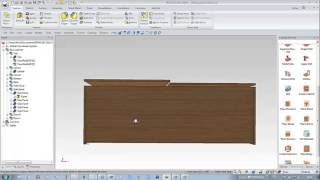 Ironcad Woodlab Cad- Design Of A Cabinet With Sliding Doors Hawa - English