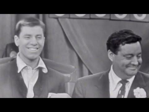 Dean Martin, Jackie Gleason and Jerry Lewis  Phone Gag 1952  MDA Telethon