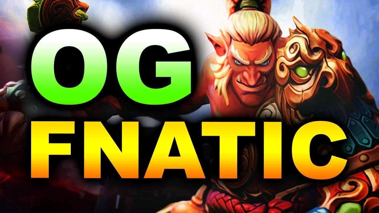 OG vs FNATIC - IMBA STRATS! - TI9 INTERNATIONAL 2019 DOTA 2 thumbnail