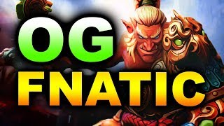 OG vs FNATIC - IMBA STRATS! - TI9 INTERNATIONAL 2019 DOTA 2