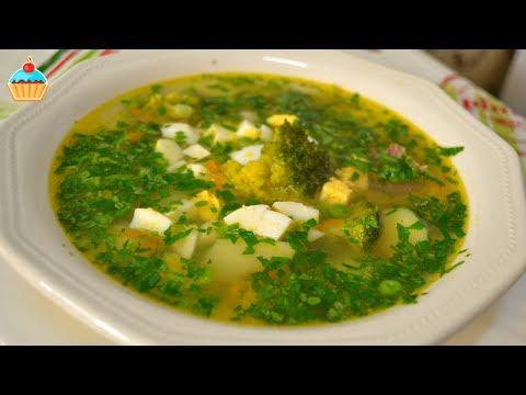 Суп диетический вкусный