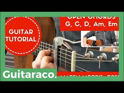 The Middle - Zedd, Maren Morris, Grey // EASY Guitar Tutorial (Open Chords)