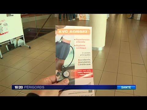 Journée de prévention de l'AVC à l'hôpital de Périgueux