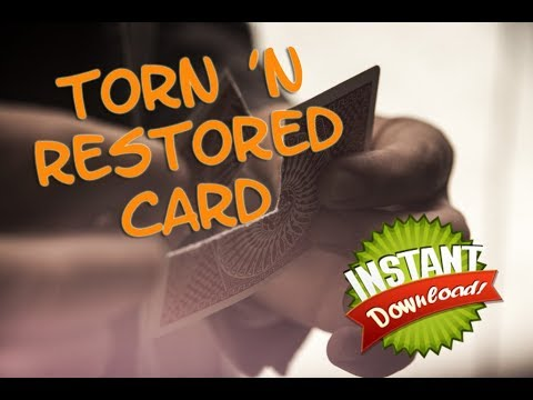 Torn n Restored instant download - Magicshop.nl