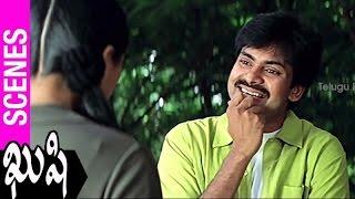 Bhumika Misunderstands Pawan Kalyan | Kushi Movie | Ali | SJ Surya | Mani Sharma