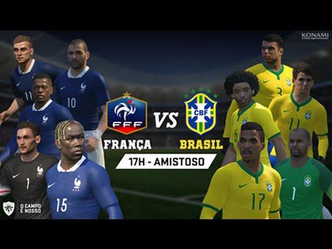 Brasil x França AO VIVO