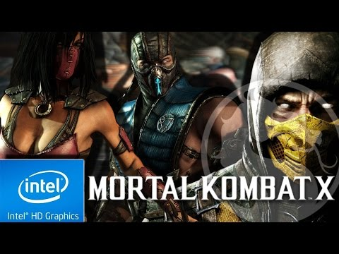 MORTAL KOMBAT X  : UTLRA LOW END CONFIG [ INTEL HD 4000, i3-3110M]