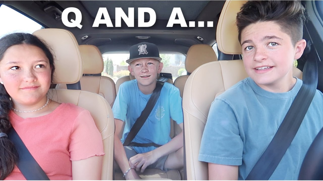 DRIVE WITH ME AND MY COUSINS