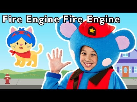 Fire Engine, Fire Engine and More   PATROL PRETEND PLAY   Baby Songs from Mother Goose Club!