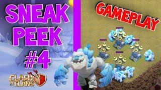 Ice Golem GAMEPLAY & Mechanics! New Troop (Sneak Peek #4)