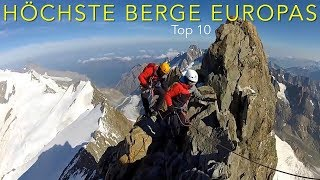 Video Climbing the highest mountains in Europe, Top 10 download MP3, 3GP, MP4, WEBM, AVI, FLV Agustus 2018