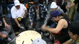 Canadian Aboriginal Festival 2011. Drum songs.