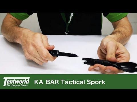 KA-BAR Tactical Spork/Knife Demo, Features & Review