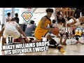 Mikey Williams DROPS DEFENDER TWICE!! PHYSICAL GAME Ends w/ GAME WINNER | Compton Magic vs BBallU