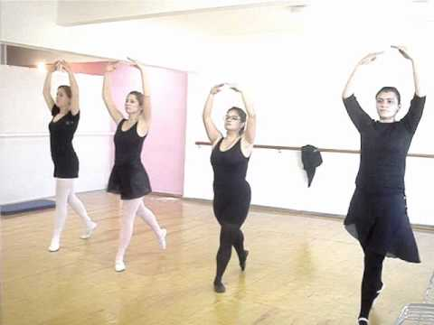 eea4f76c38 Ballet Adulto Iniciante 1 - YouTube