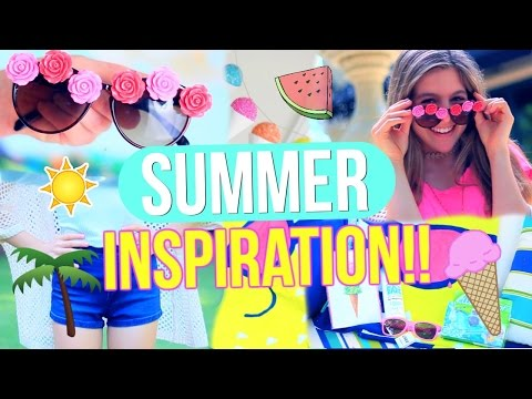 Summer Inspiration 2016!!   DIY Room Decor, Sunglasses, Outfits + GIVEAWAY!!