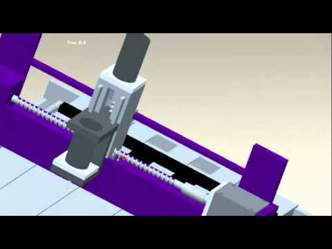 Build Your CNC  Machine: ProE Simulation