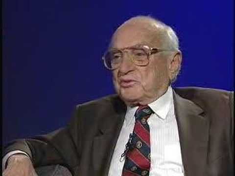 Milton Friedman Interview: A Productive Global Economy