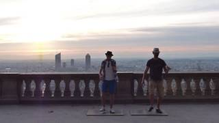 Tap dance in Lyon.Manu et Guillaume
