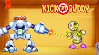 Random Weapons vs The Buddy   Kick the Buddy   Android Games 2018 Gameplay   Friction Games