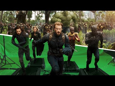 Amazing Detailed Before And After Hollywood VFX: Avengers Infinity War