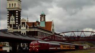 Return of the Vulcan Railcar to Dunedin