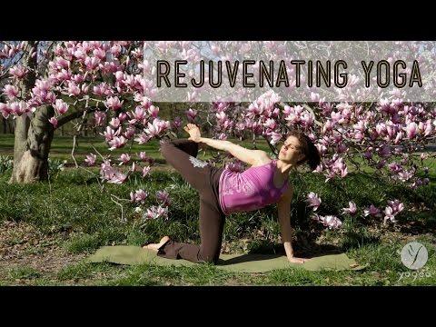 Rejuvenating Yoga Routine: Replenish & Charge (open level)