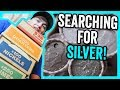 FINDING SILVER COINS FROM THE BANK - COIN ROLL HUNTING HALF DOLLARS