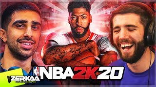 2 AMATEUR Basketball Players Vs The World! (NBA 2K20 with Vikkstar123)