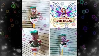 DIY- Fofu Lápiz Baby Groot EN GOMA EVA