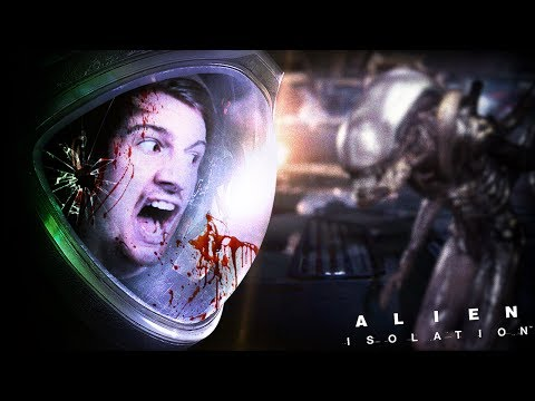 HE'S RIGHT BEHIND ME.. ISN'T HE? || Alien Isolation (Part 7)