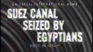 The Nationalization of the Suez Canal
