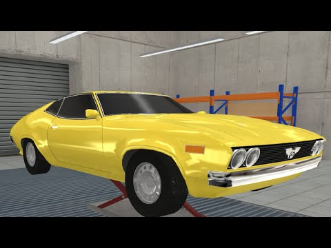 Muscle Car At The Worst Time Possible (1975) - Automation The Car Company Tycoon Game