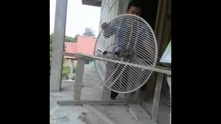 PEMASANGAN WIFI DENGAN TP-LINK REFLEKTOR GRID DI SIAK