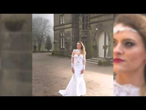 Wedding Photography at Hargate Hall - a Bridal Fashion Shoot