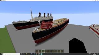 Bri & Rich's Minecraft Creative Ep 87 (Ships N Pixels)