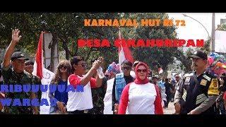 Karnaval Hut Ri 72 Desa Cikahuripan Kec Cimanggung