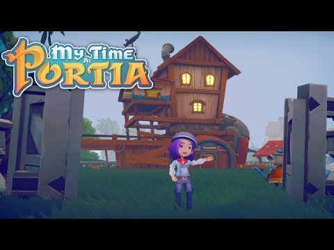 House Upgrade!! - My Time at Portia (Alpha 6.0) – Part 167