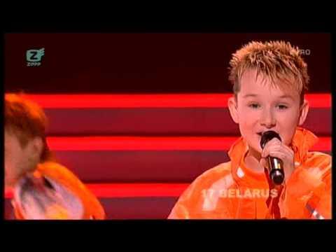 Junior Eurovision 2007: Alexey Zhigalkovich - S Druz'yami (Belarus)