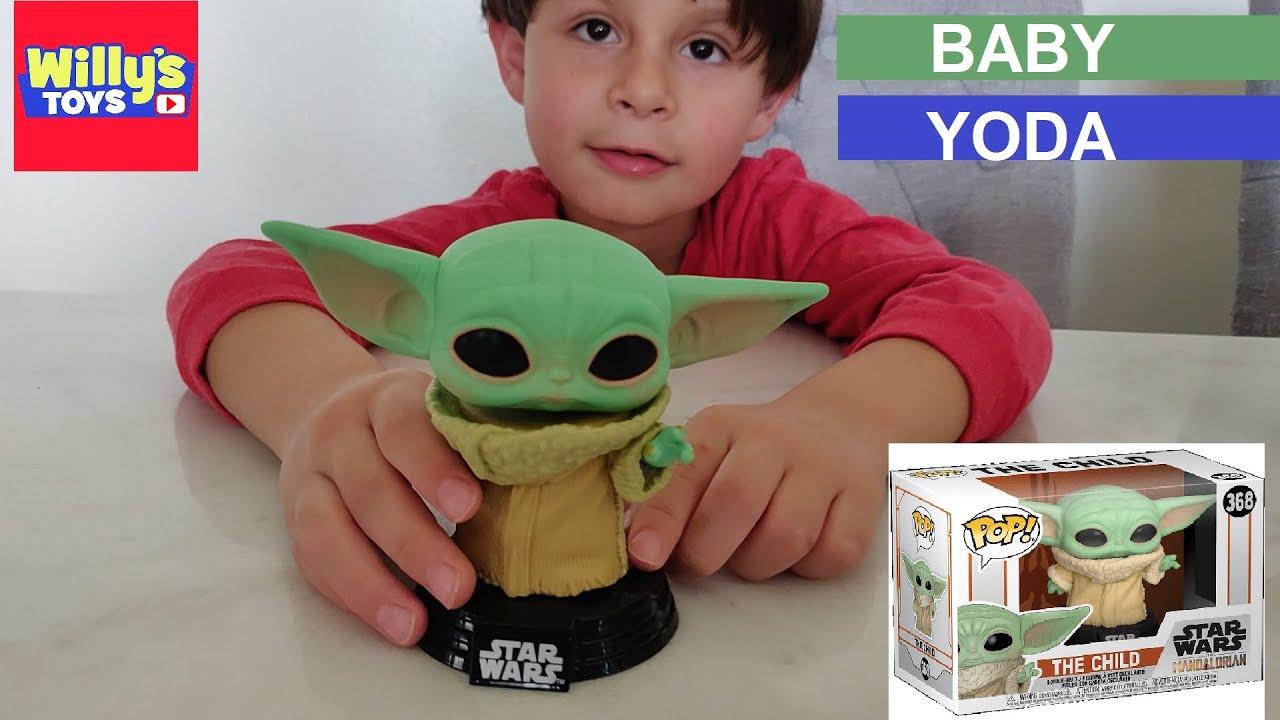 Baby Yoda Official The Child Star Wars Mandalorian Funko Pop Vinyl Figure