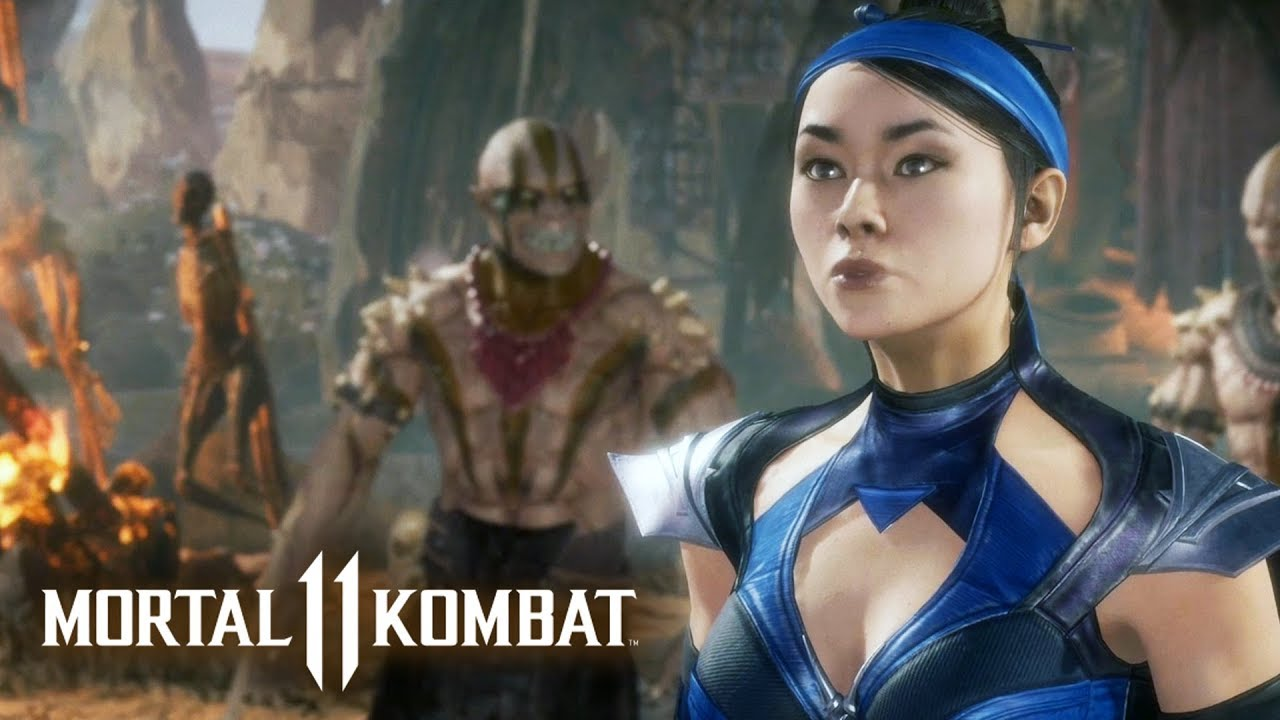 MORTAL KOMBAT 11 #7 - Kitana | Campanha em Português PT-BR no PS4 Pro