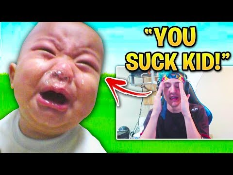 Fortnite Streamers WHO MADE KIDS CRY! (Tfue, Cizzorz, Nick Eh 30)