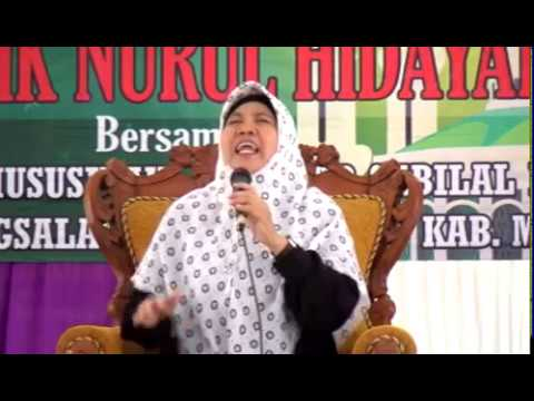 Pengajian Umum - Dra. Hj. Ucik Nurul Hidayati, M.Pd.I