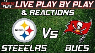 Pittsburgh Steelers vs Tampa Bay Bucs | Live Play-By-Play & Reactions
