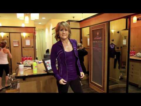 Lululemon ambassador Christina Sell goes shopping.