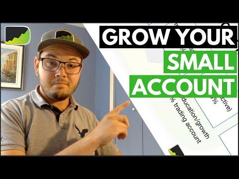 Grow a forex account