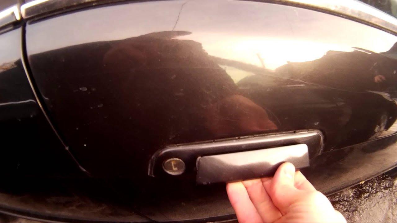 сел аккумулятор как открыть машину вольво